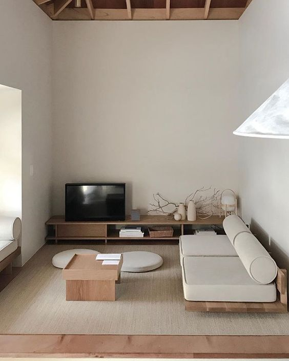 Modern Small Living Room with A Traditional Touch
