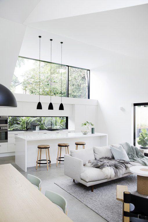Scandinavian Kitchen Living Room