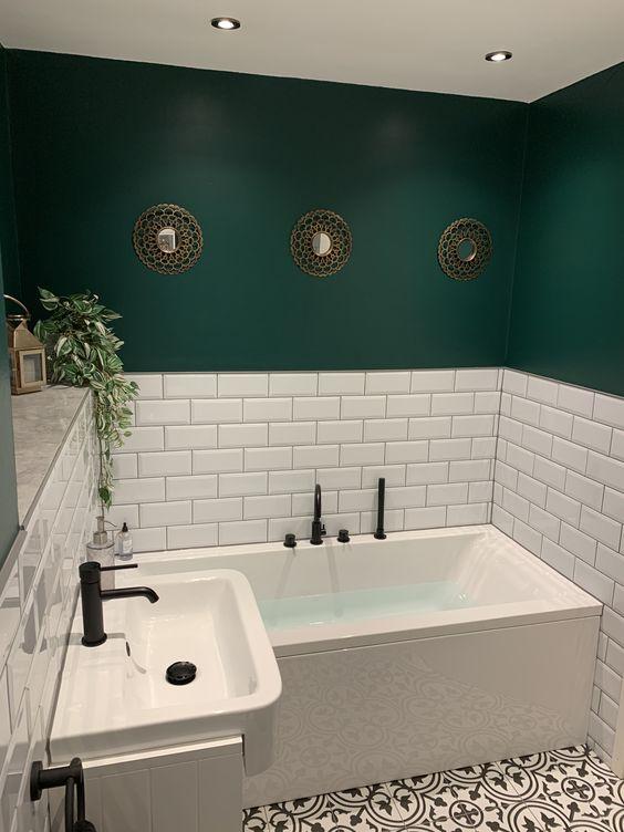 Fresh Green Bathroom Design Ideas Roohome