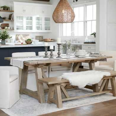 rustic dining room decors