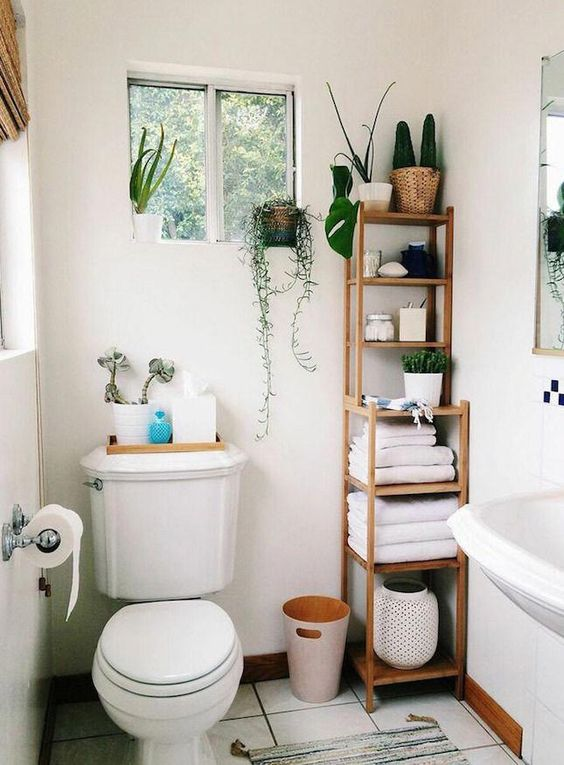 Small Bathroom Apartment Decors