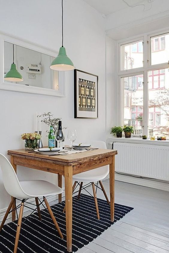 Small Apartment Dining Room Decor