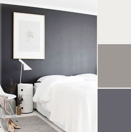 monochromatic color scheme bedroom