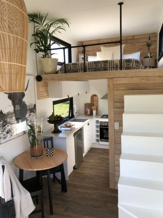 farmhouse interior design for tiny house