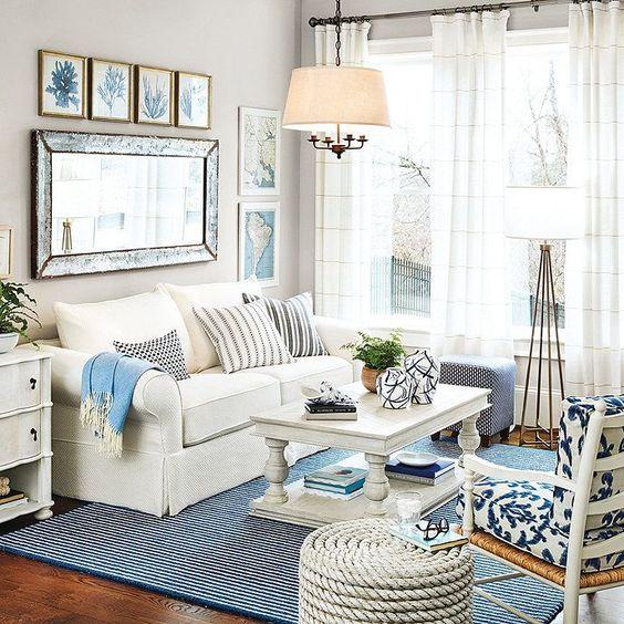 vintage living room idea