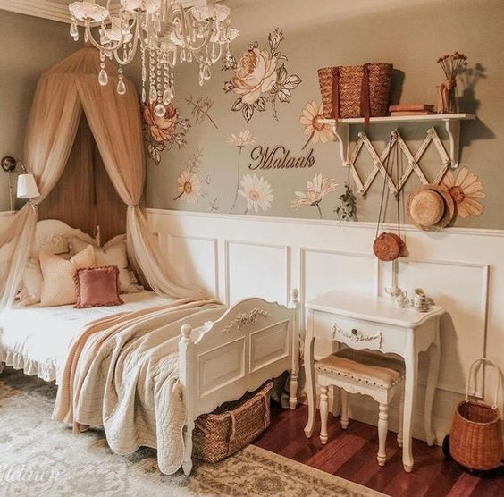 beautiful vintage bedroom decors