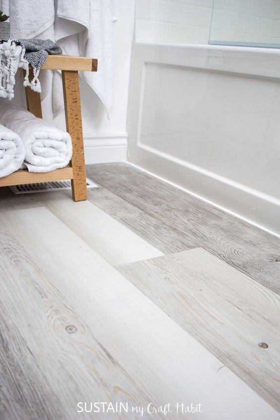 Vinyl Plank for Bathroom