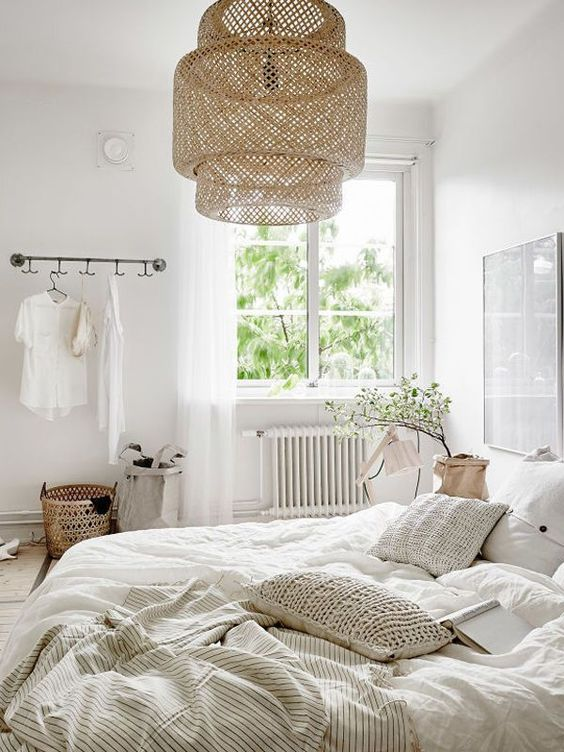 Rattan Lamp Shade for Beautify The Bedroom