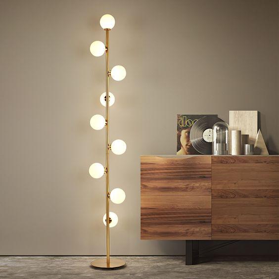 Modern LED Bedroom Standing