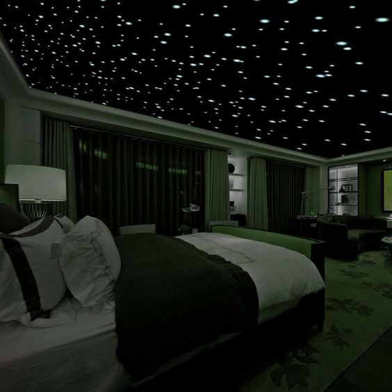 LED starry night sky projector lamps