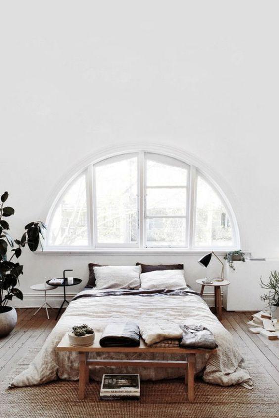 simple scandinavian bedroom design
