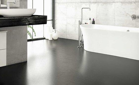 concrete flooring for bathroom