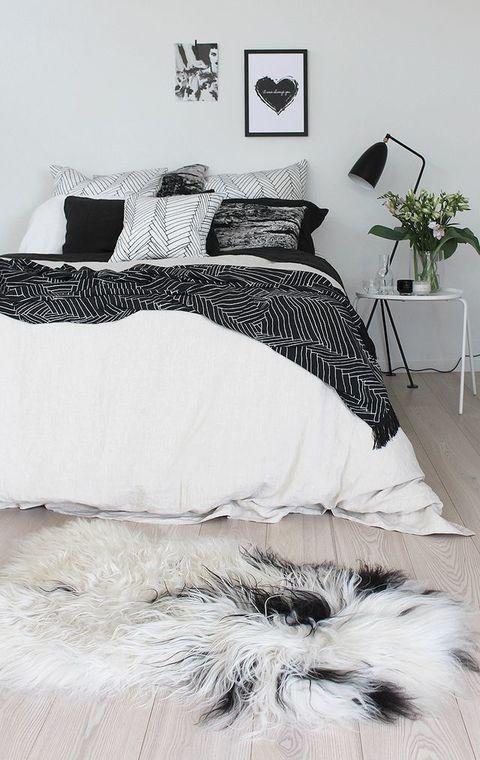 beautiful monochrome bedroom ideas