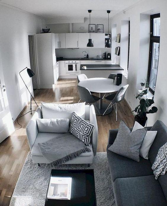 modern monochrome apartment