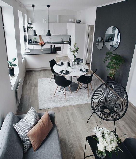 monochrome style apartment