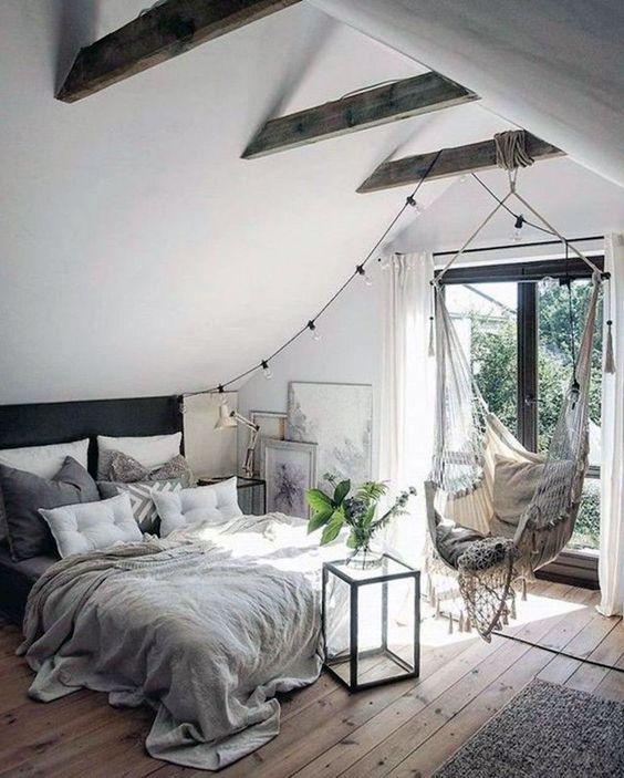 beautiful scandinavian bedroom