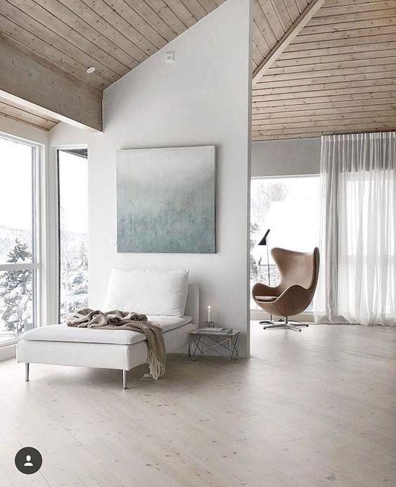 comfortable scandinavian bedroom design