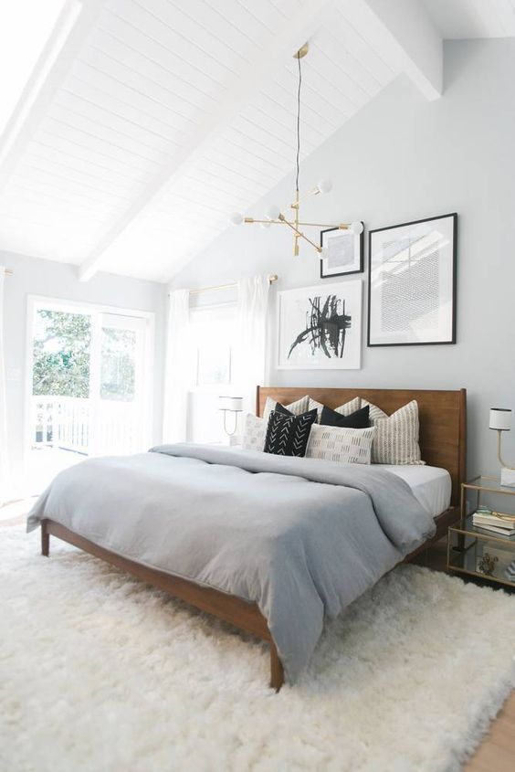 scandinavian bedroom colors