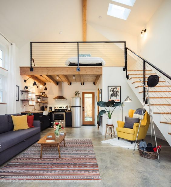 Inspiration Loft Small Apartment
