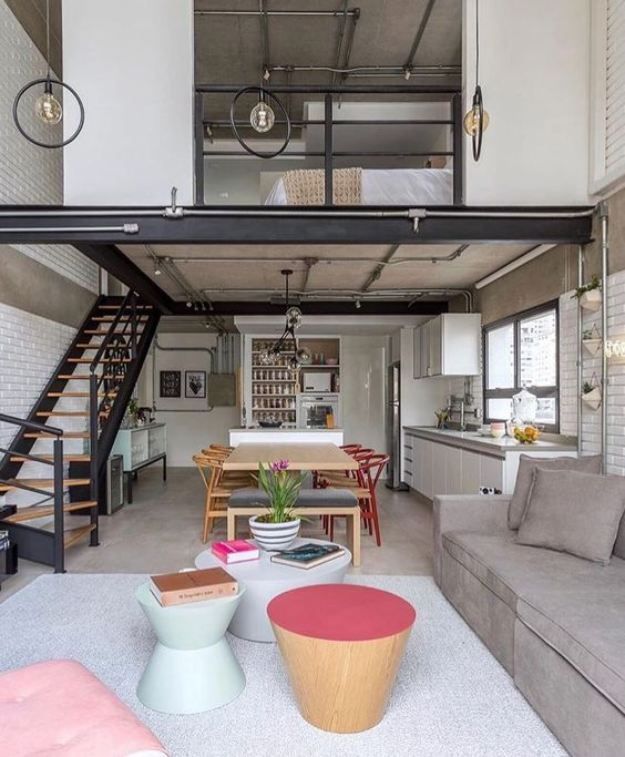 Industrial Small Loft Apartment