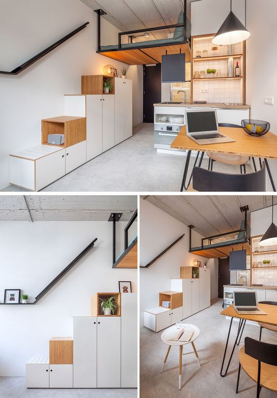 Small Loft Apartment Ideas